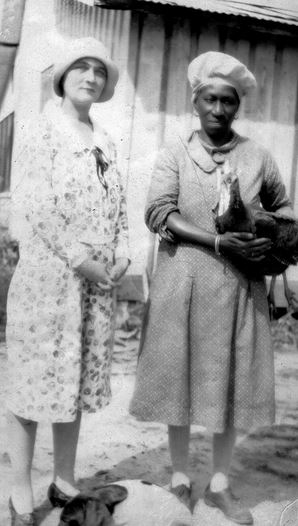 Marjorie and Martha Mickens (Rawling's Maid).