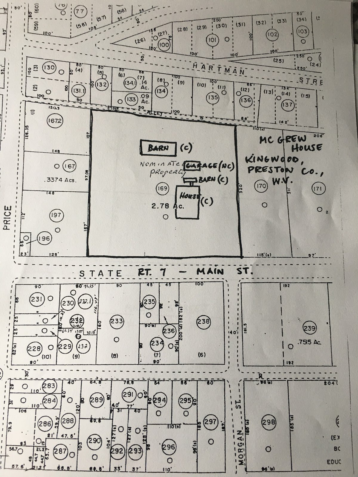 McGrew House blueprints