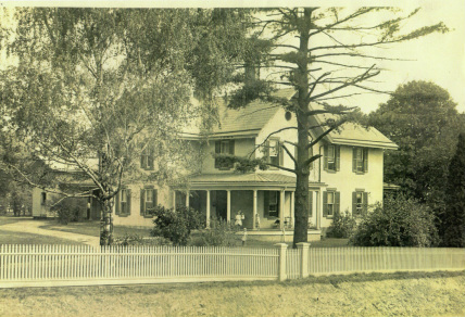 Historic photograph of the McGrew House (year unknown)