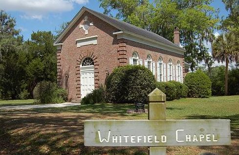 Whitefield Chapel that stands on property.