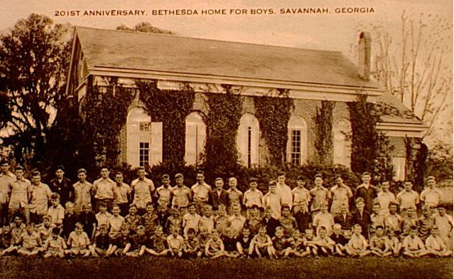 A postcard that reflects a past time at the orphanage.