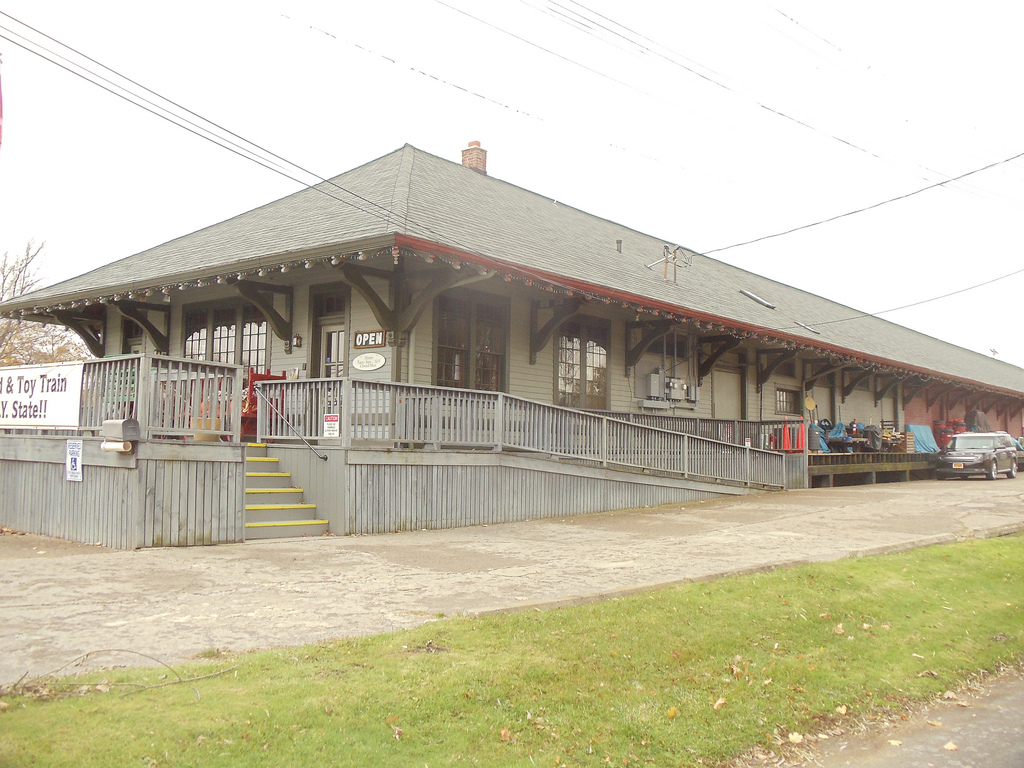 The Medina Railroad Museum is located in the former Medina depot, which was built in 1905.