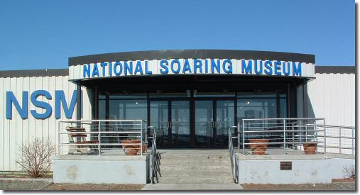 Entrance to the National Soaring Museum
