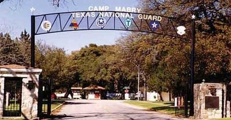 Entrance to Camp Mabry