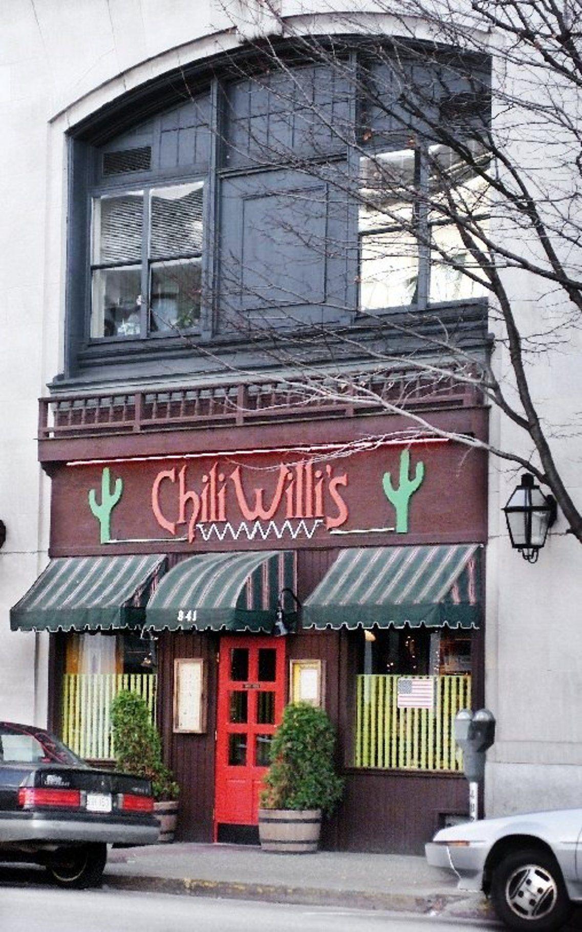 Exterior of Chili Willi's second location
