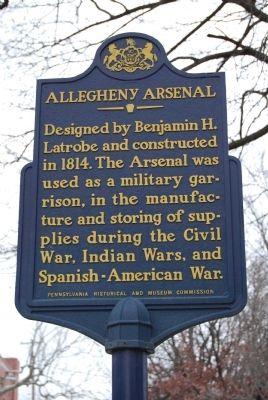 Allegheny Arsenal Marker