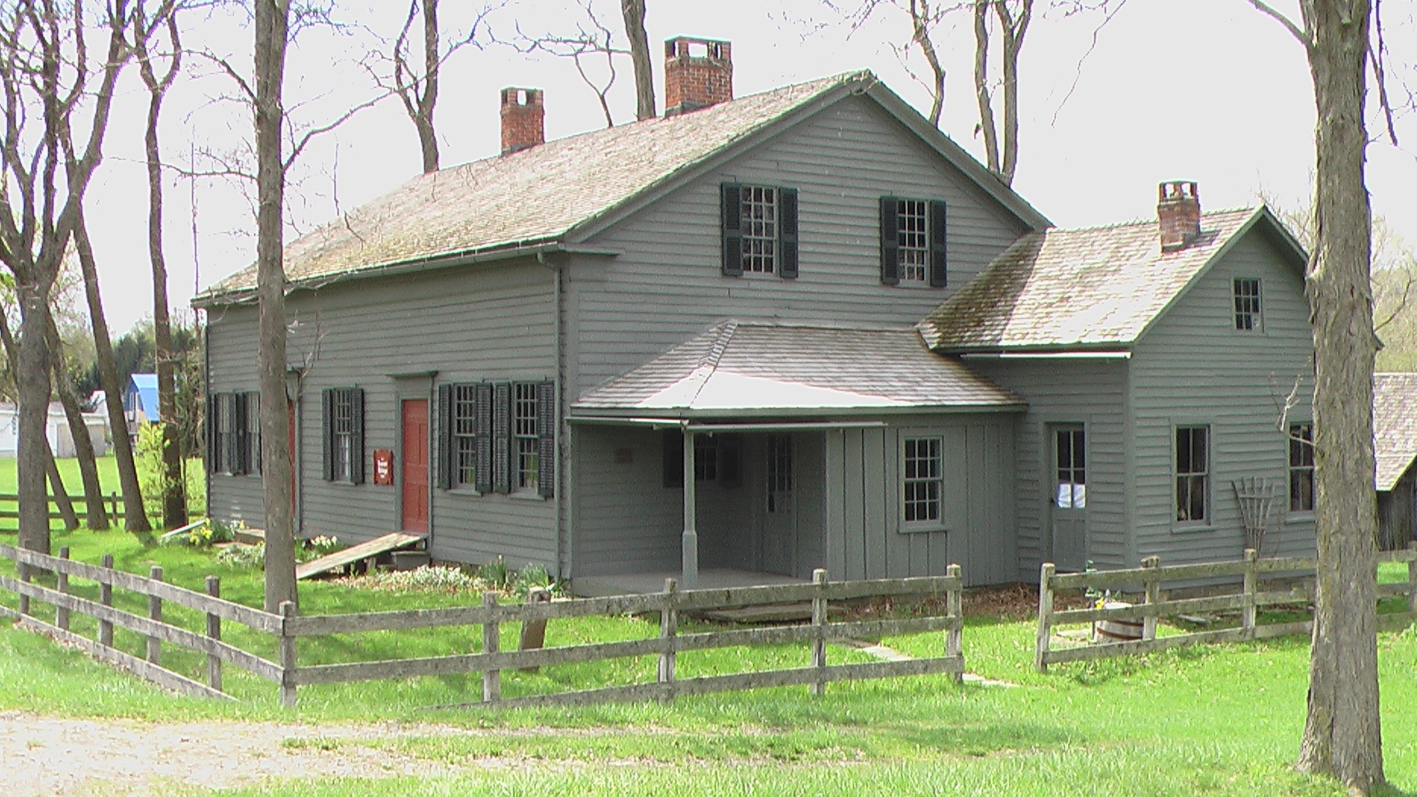 The Bement-Billings House was originally built in 1796.
