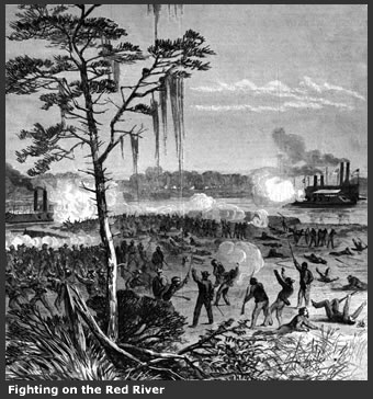 Fighting on the Red River during The Civil War