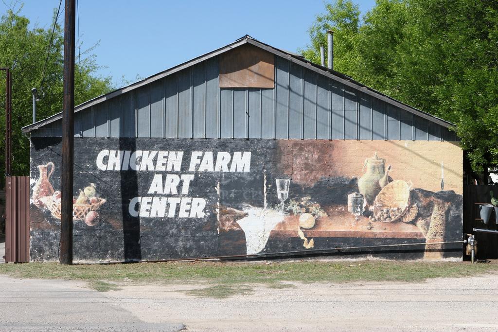 The Chicken Farm Art Center present day