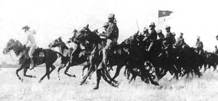 Image of the Tenth Cavalry