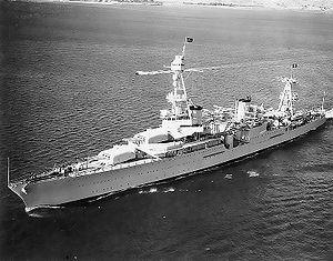 USS Houston in 1935