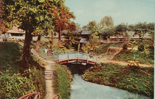 Old Mill- part of the park in 1913