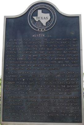 Austin, CSA marker