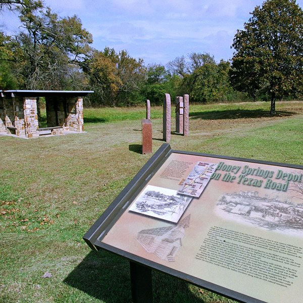 Honey Springs Battlefield was designated a National Historic Landmark in 2013