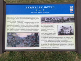 Berkeley Hotel Marker: Railroad Raids Survivor, Photo by Ed Stely, September 22, 2015
