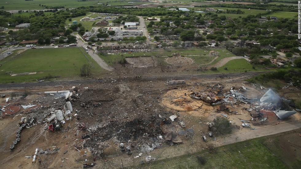 Fertilizer Plant After the Explosion