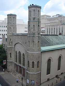 Exterior of St. Stephen's today.