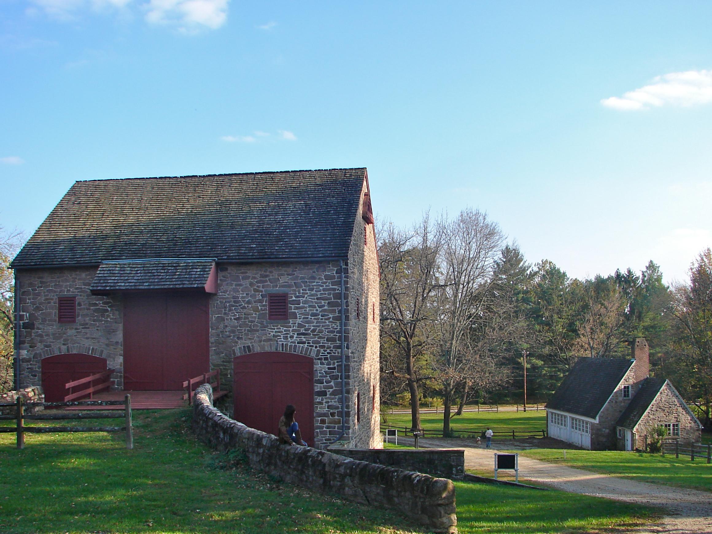 The Highlands' barn.