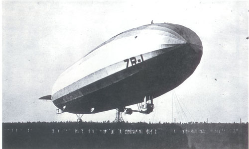 The USS Shenandoah boasted  five 300-horse power, six-cylinder Packard engines that could propel the ship to a top speed of 60 mph and carry a load of 33 tons.