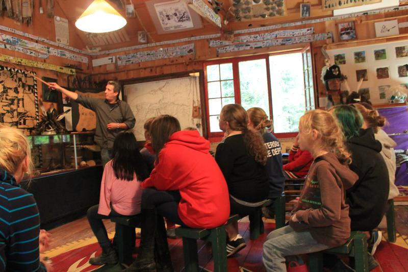 The museum offers lectures and story telling as part of its programming