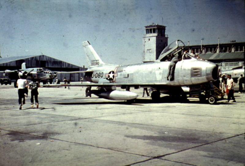 Military Airshow circa 1954