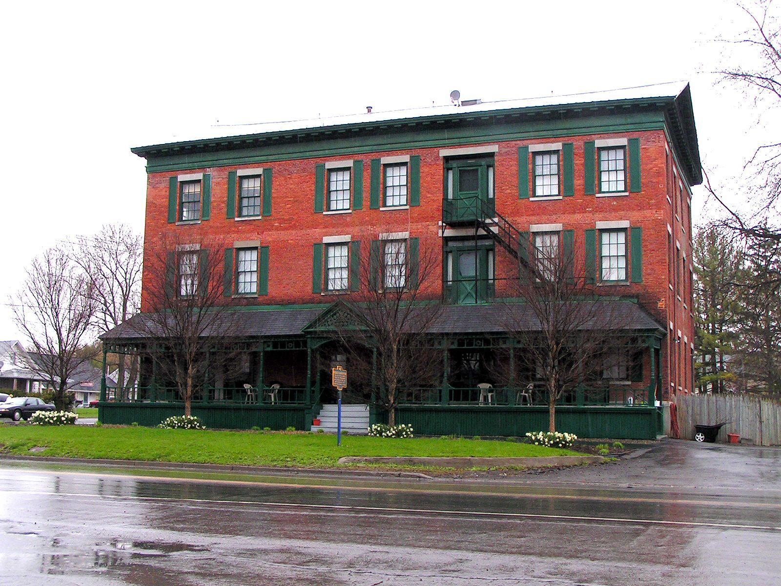 Rogues Harbor Inn was built between 1830-1842.