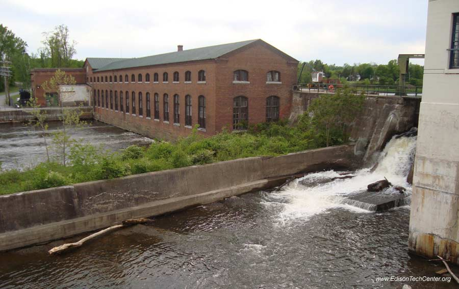 The Mechanicville Hydroelectric Plant