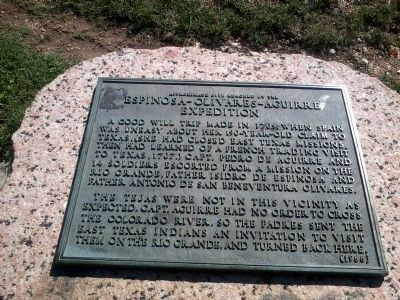 The expedition marker
