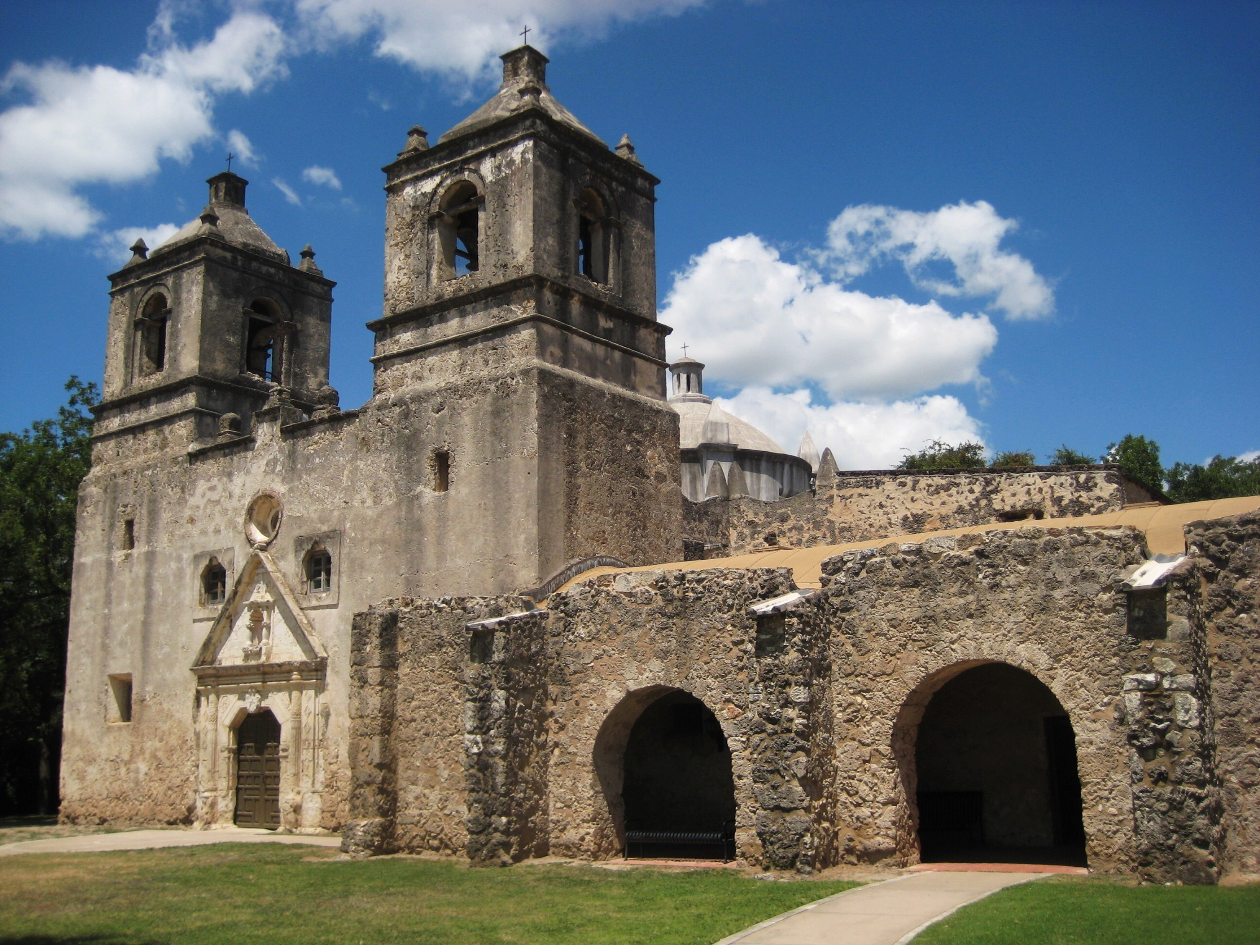 Spanish mission in Texas