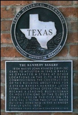 The Kennedy Bakery marker