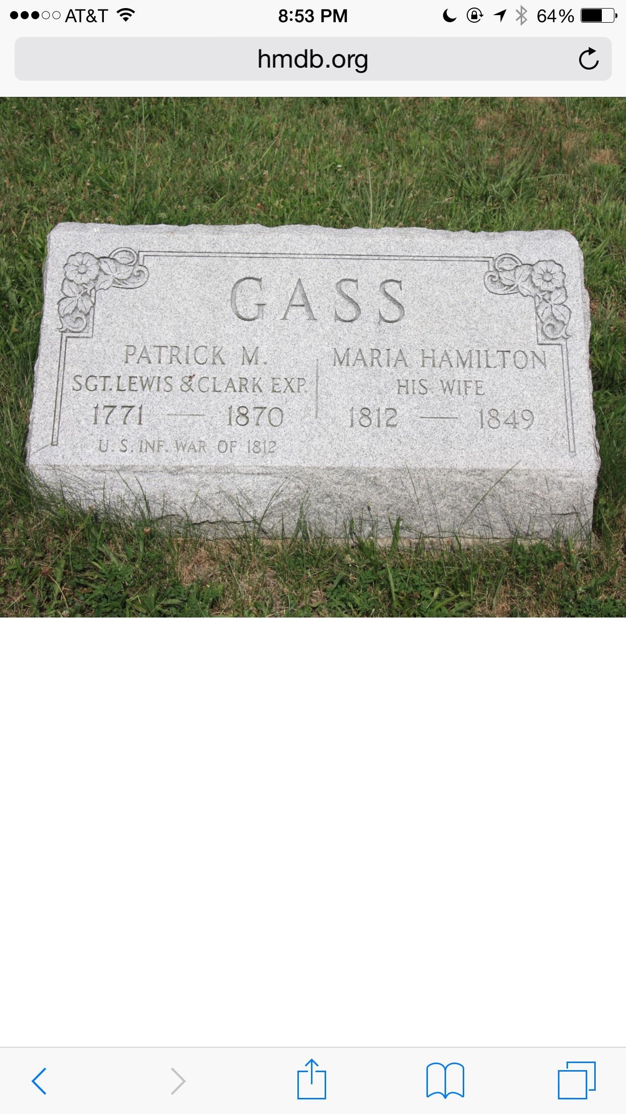 Burial Stone.