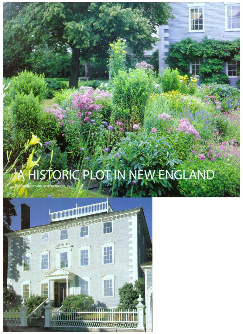 The Moffatt-Ladd house and garden