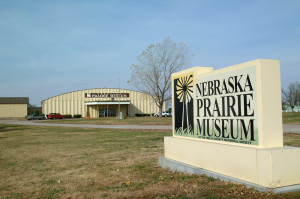 Nebraska Prairie Museum Entrance