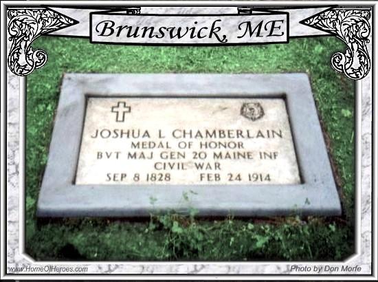 Joshua l. Chamberlain's Grave