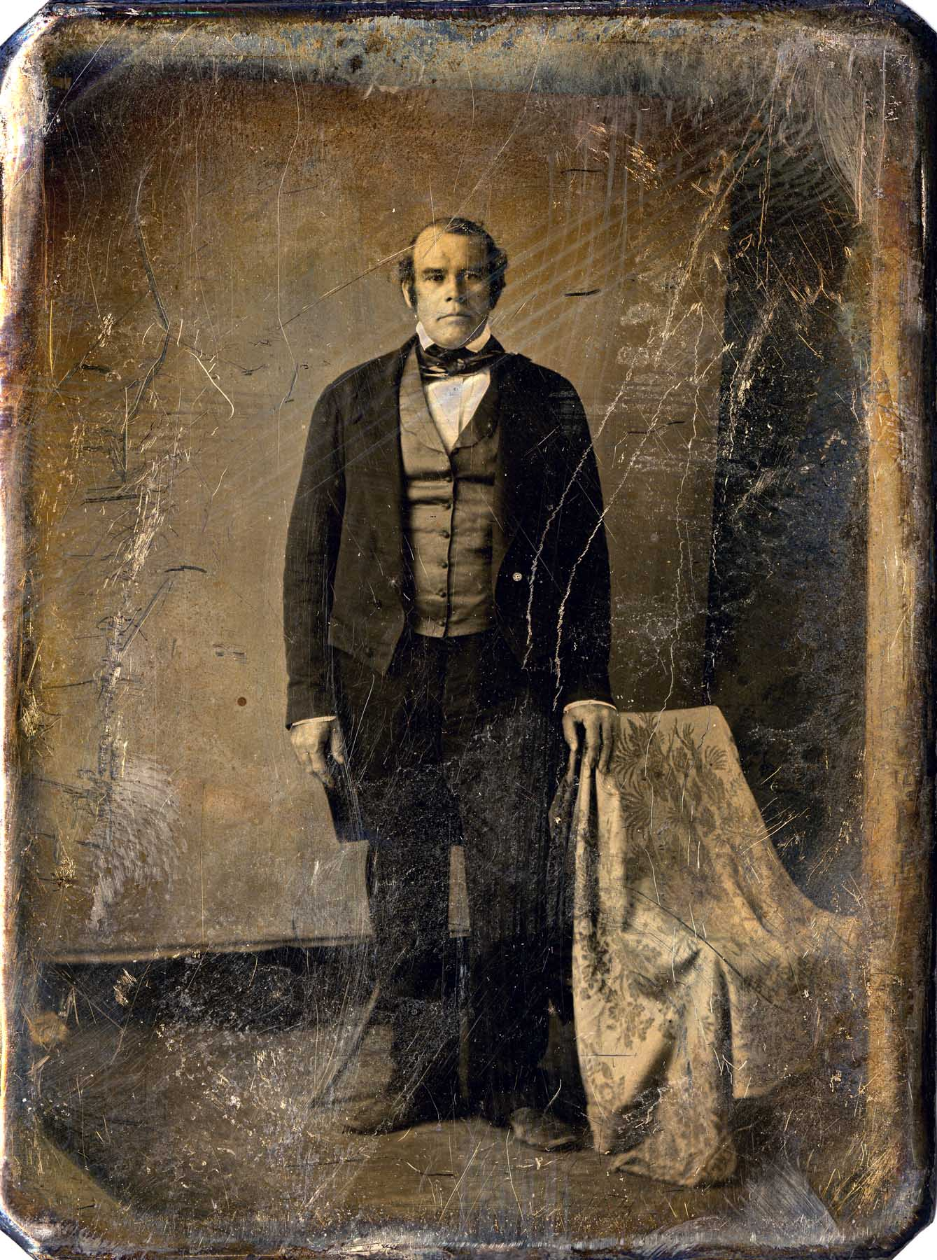 Parley P. Pratt ca. early 1850s. Courtesy of The Church of Jesus Christ of Latter-day Saints