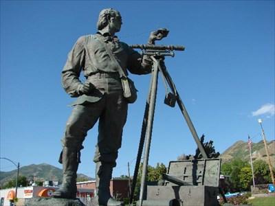 Monument to Pratt in Salt Lake City