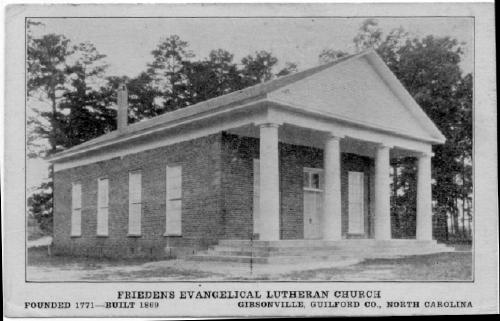 Frieden Church before 1939 Fire