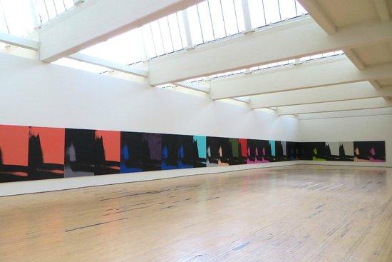 "Warhol's ""Shadows"" installation"