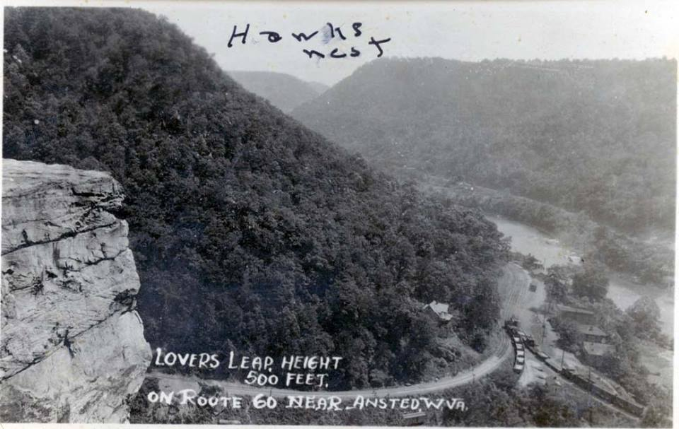 New Deal programs like the CCC created trails in the area that are now part of Hawks Nest State Park