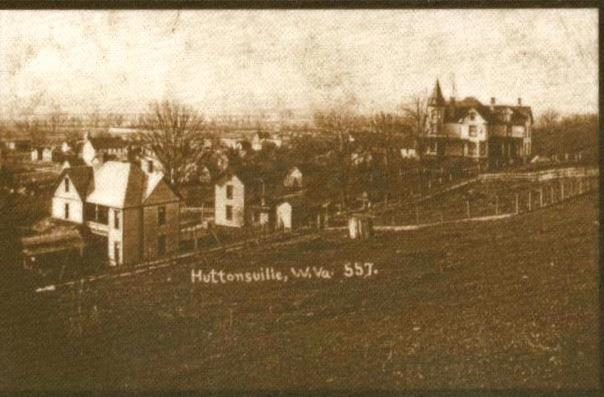 Early 1900s- Hutton House located in the top right.