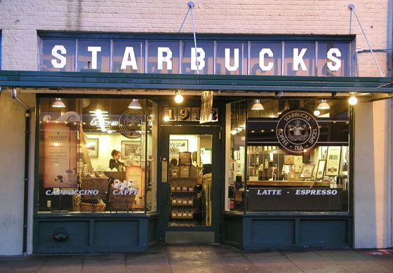 Original Starbucks Exterior