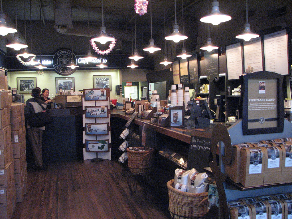 Original Starbucks Interior