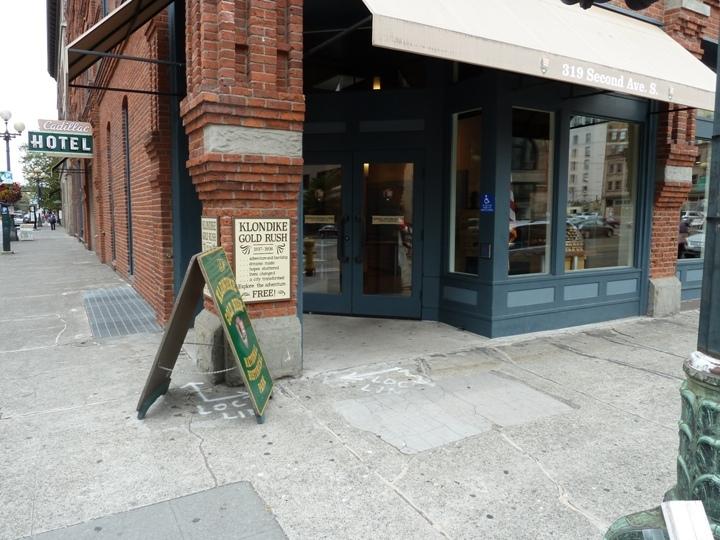 Klondike Gold Rush National Park Seattle Unit Entrance