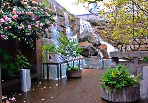 Pioneer Square Waterfall Park