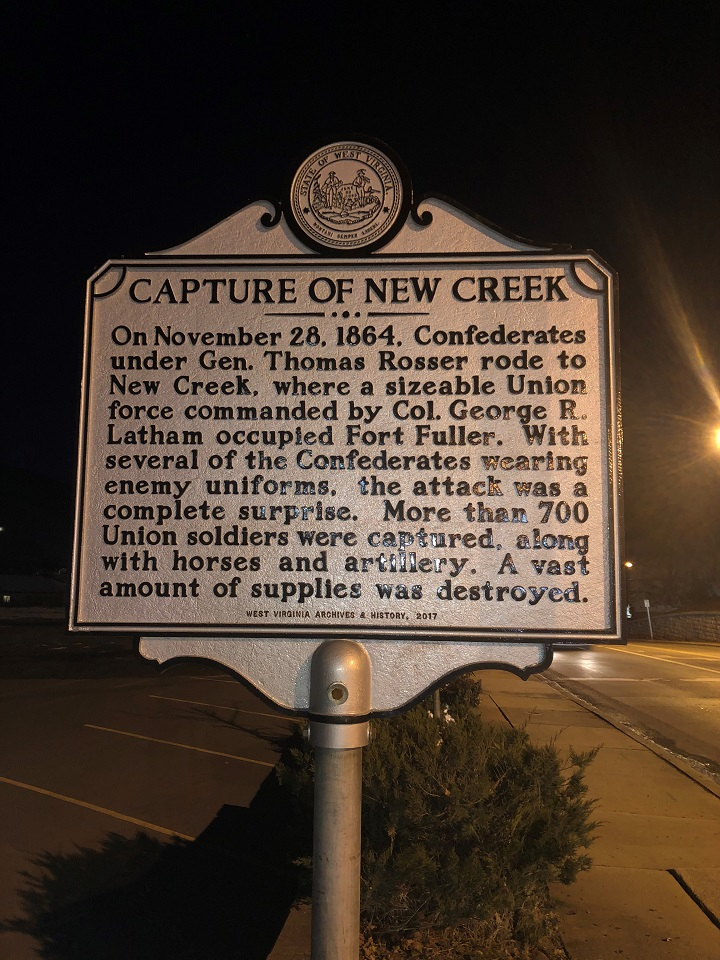 Capture of New Creek Historic Marker
