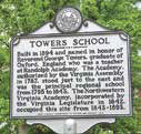 Tower School Sign