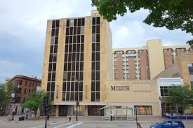 Here is a picture of the Wisconsin Veterans Museum.