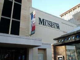 The Wisconsin Veterans Museum is located in a modern facility that opened in 1993.