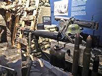 Exhibits on World War II are among the museum highlights.