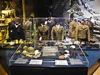 Here is a exhibit that is located at the museum.